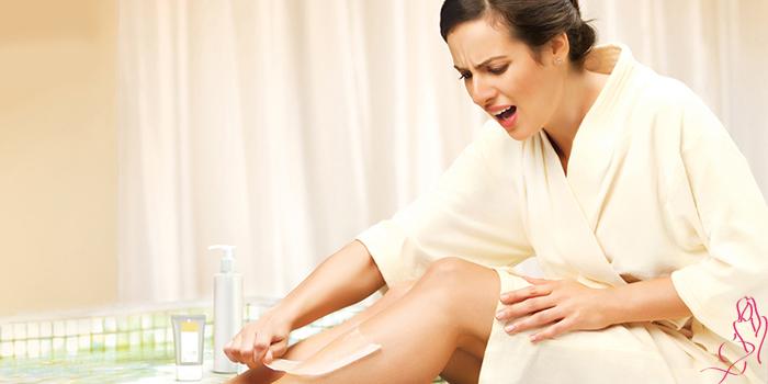 Чем обезболить ноги перед эпиляцией