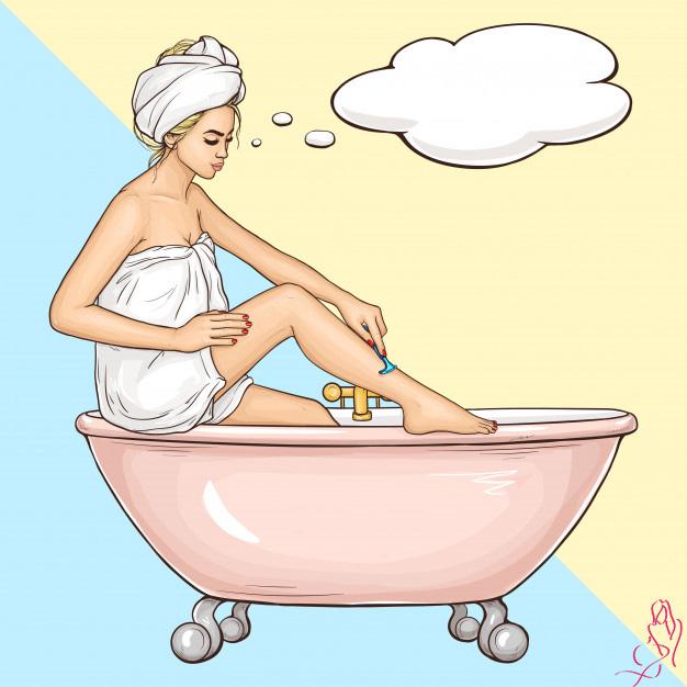 Почему чешутся ноги после бритья